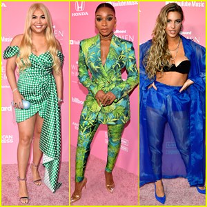Hayley Kiyoko & Normani Go Green at Billboard Women In Music Event