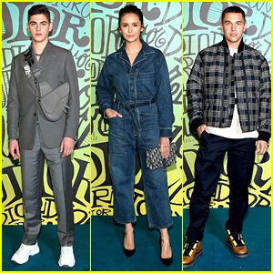Hero Fiennes-Tiffin, Nina Dobrev & More Head To Miami For Dior Fashion Show
