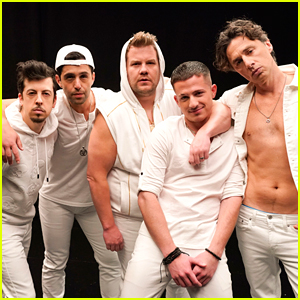 Charlie Puth Joins James Corden's Boy Band for a Hanukkah Song!