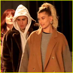 Hailey Bieber Joins Husband Justin For Church in LA