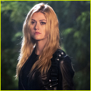 Katherine McNamara Shows Off The Details Of Her New Green Arrow Suit