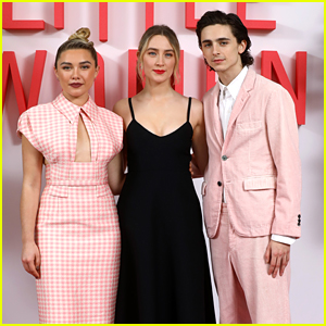 Saoirse Ronan Joins 'Little Women' Cast at UK Premiere!