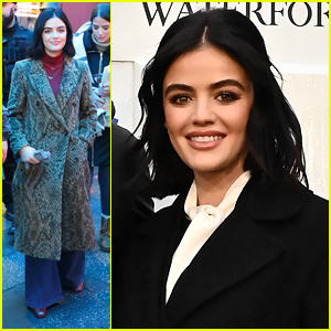 Lucy Hale Rehearses For 'New Year's Rockin' Eve' Event in NYC
