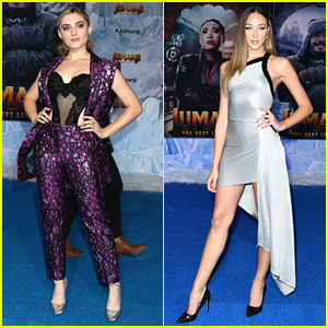 Meg Donnelly & Ava Michelle Serve Looks at 'Jumanji: The Next Level' Premiere
