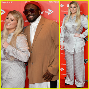 Meghan Trainor Gets Ready for 'The Voice UK' Season Debut!