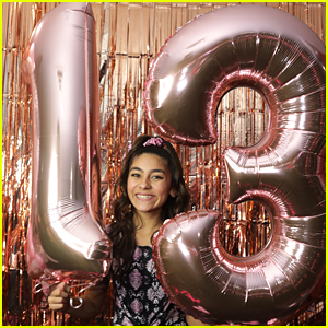GEM Sisters' Mercedes Lomelino Celebrates 13th Birthday with Friends at Pinz!