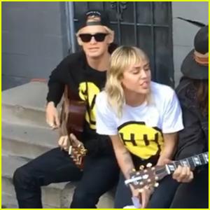 Miley Cyrus & Boyfriend Cody Simpson Sing 'Old Town Road' - Watch!