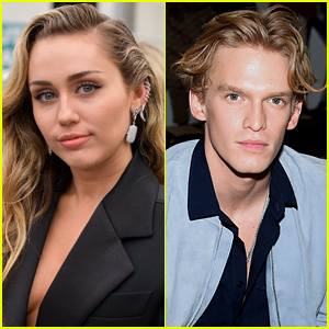 Miley Cyrus & Cody Simpson Couple Up For Dinner Date