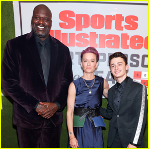 Noah Schnapp Meets Shaquille O'Neal at Sports Illustrated's Sportsperson of the Year Event