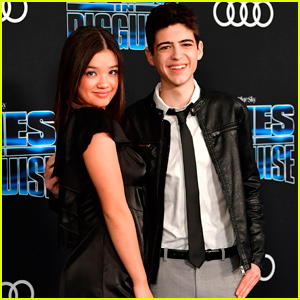 Peyton Elizabeth Lee & Joshua Rush Reunite For 'Spies in Disguise' Premiere