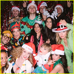 Taylor Swift Threw a Star-Studded 30th Birthday Party with a Holiday Theme!