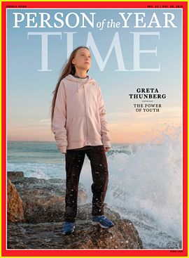 Teen Activist Greta Thunberg Has Been Named Time's Person of the Year 2019