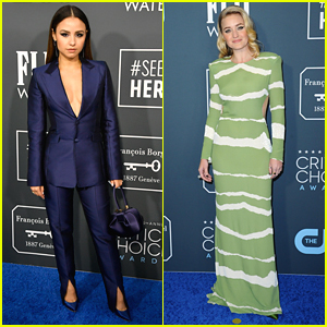 Aimee Carrero & AJ Michalka Rep 'She-Ra' at Critics' Choice Awards 2020