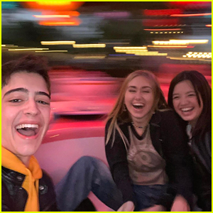 'Andi Mack' Cast Reunite For a Day at Disneyland!