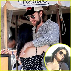 Luke Benward & Ariel Winter Share Sweet Embrace After Lunch in LA