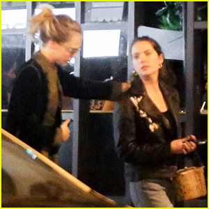 Ashley Benson Steps Out for Sushi Date in Rio with Cara Delevingne!