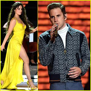 Camila Cabello & Ben Platt Perform a 'Fame' Song for Grammys Tribute
