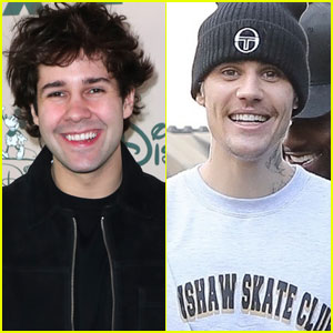 David Dobrik Got Tickled By Justin Bieber at a Club