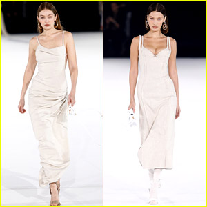 Gigi Hadid Walks in Paris Fashion Week Show with Bella!