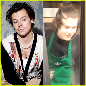 Fans Find Harry Styles' Look A Like at the Starbucks Drive Thru!