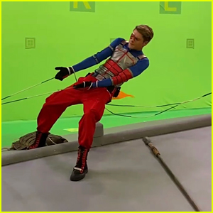 Jace Norman Shares Sneak Peek at 'Henry Danger' Series Finale With BTS Video