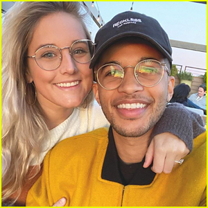 Jordan Fisher's Fiancee Ellie Woods Got Him The Cutest Gift For His NYC Apartment