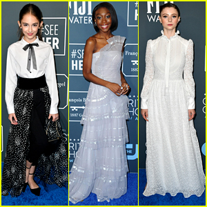 Julia Butters & Shahadi Joseph Wright Look Lovely at Critics' Choice Awards 2020