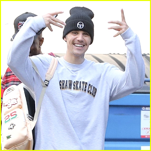 Justin Bieber Gets In Workout at Dogpound Gym Before Recording Studio Stop