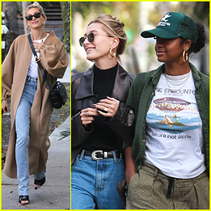 Hailey Bieber Is All Smiles While Running Errands in LA