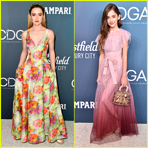 Kathryn Newton & Julia Butters Present at Costume Designers Guild Awards 2020