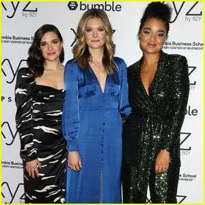 Katie Stevens Joins Meghann Fahy & Aisha Dee to Celebrate 'The Bold Type' Season 4