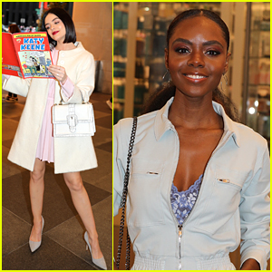 Lucy Hale & Ashleigh Murray Hype Up 'Katy Keene' at BroadwayCon