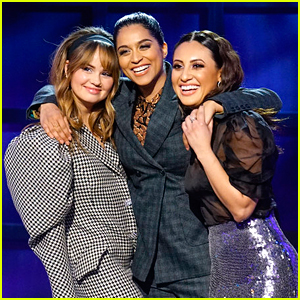 Debby Ryan & Francia Raisa Show Lilly Singh How They Would Enter On 'The Bachelor'