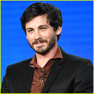Our Crush On Logan Lerman Just Intensified After Seeing Him at the Winter TCA Press Day!