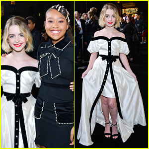 McKenna Grace & Kai Ture Premiere New Prime Movie 'Troop Zero'