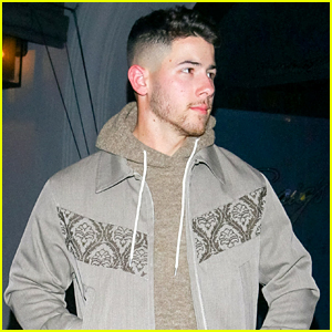Nick Jonas Grabs Dinner Out in LA Ahead of Grammy Awards Performance This Coming Weekend