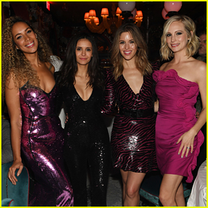 Nina Dobrev, Candice King, & Kayla Ewell Reunited on New Year's Eve!