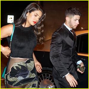 Nick Jonas & Priyanka Chopra Couple Up for Golden Globes 2020 After-Party