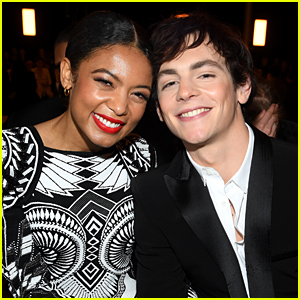 Ross Lynch & Jaz Sinclair Cozy Up at Balmain Fashion Show in Paris