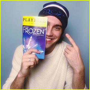 Ryan McCartan Returning To Broadway as Hans In 'Frozen'