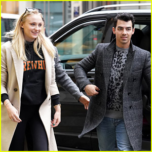 Joe Jonas Spends Time with Sophie Turner During a Tour Break in London