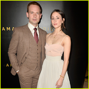 Troian Bellisario Actually Wore Part of Her Wedding Dress to Amazon's Golden Globes Party