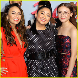 Anna Cathcart Shares Super Cute 'To All The Boys 2' BTS Video With Janel Parrish & Lana Condor