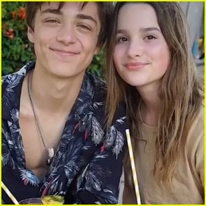 Annie LeBlanc & Asher Angel Celebrate Valentine's Day & Their Anniversary!