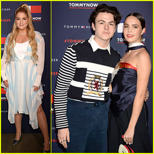 Bailee Madison & Blake Richardson Couple Up For TommyNow London Fashion Show