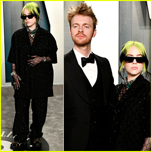 Billie Eilish & Brother Finneas Team Up at Oscars Party 2020