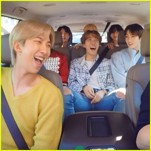 BTS Might Have Found The 8th Member Of The Group in James Corden!