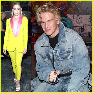Chloe Lukasiak & Cody Simpson Check Out e1972 Fashion Show During New York Fashion Week