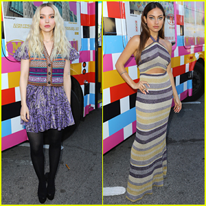 Dove Cameron & Inanna Sarkis Stun With Amazing Eyeliner Looks at M Missoni Fashion Show