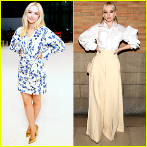 Dove Cameron Steps Out For Adeam & Carolina Herrera Fashion Shows in NYC